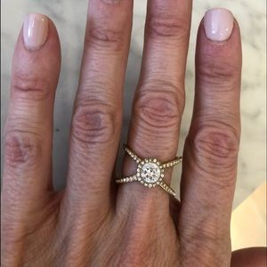 Michael Kors Gold Pave Ring